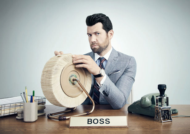 GIANT ARTISTS : BILLY EICHNER for MONEY Mag by Emily SHUR
