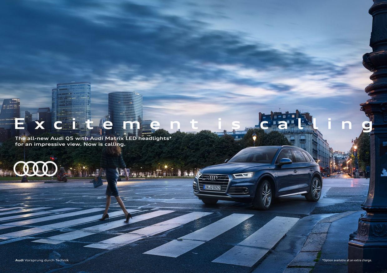 RECOM CGI : AUDI Q5 Campaign