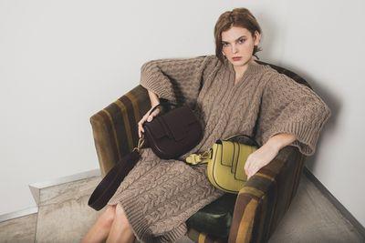 Mari Orlova for IOEF Bags shot by Valentina Frugiuele