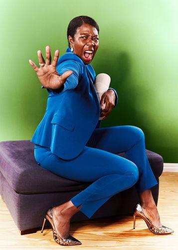 MANU AGAH photographs 'THE TOIPAPER PROJECT' - DAYAN KODUA - actress and cultural ambassador