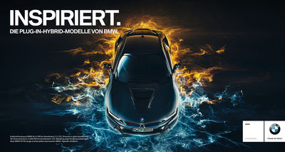 BMW Hybrid Kampagne Full-CGI