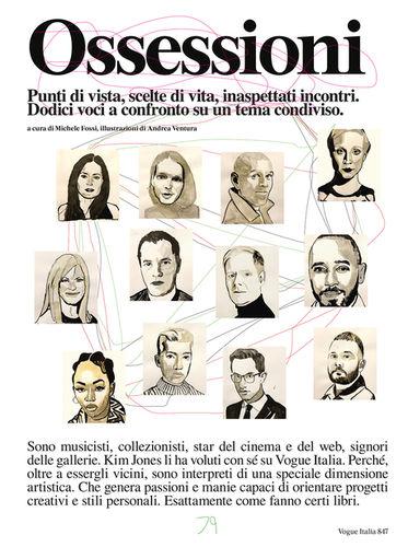 Andrea VENTURA c/o 2AGENTEN : Portraits for VOGUE ITALIA