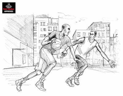ISABEL SCHARENBERG CREATIVE MANAGEMENT: Concept Art for Foot Locker by Lily Qian
