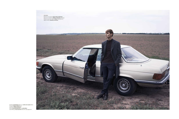 EYES PRODUCTIONS : Magnus REED for PLAZA UOMO