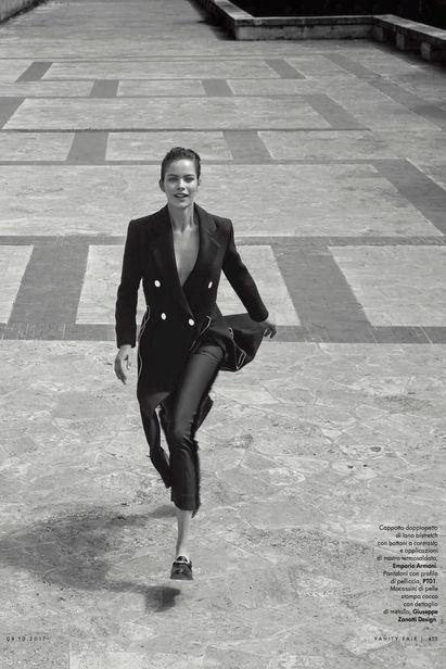 VANITY FAIR, Alexandra Hochguertel, Hochgürtel, Fashion, Federico De Angelis, Italy