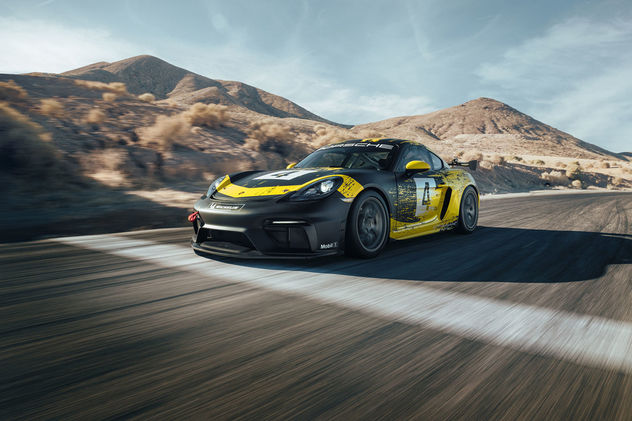 SEVERIN WENDELER: Photography - Lisa Linke c/o Severin Wendeler for Porsche
