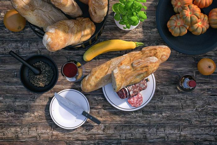 3D Model of a wheat baguette  •  RALF KUNSTMANN ILLUSTRIERT...