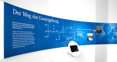 """GIGANT : """"Die parlamentarische Demokratie in Deutschland"""" Exhibition, Berlin"""