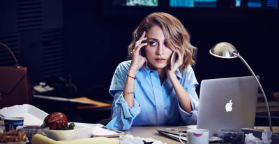 Nicole Richie for Refinery 29 by Emily Shur c/o GIANT ARTISTS