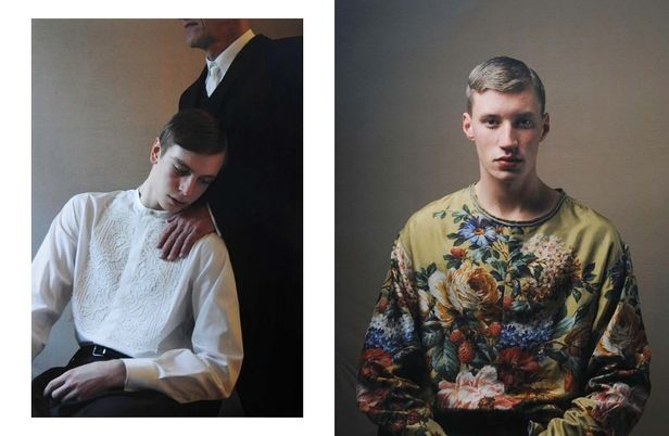 VIVA MODELS : Jasper / Jakob WILHELM for DUST MAGAZNE