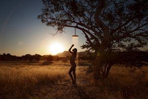 "BIRGIT STöVER : Alexa SINGER for HANSGROHE CALENDAR 2012 ""A Sense of Water"""