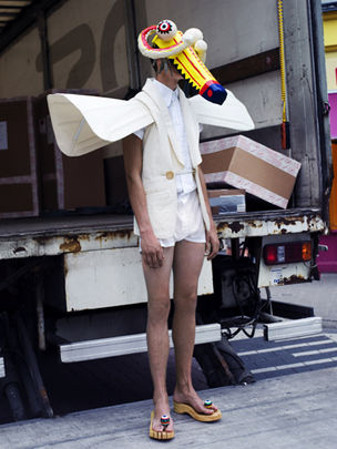 GoSee FASHION : Walter VAN BEIRENDONCK.for DAZED AND CONFUSED MAGAZINE
