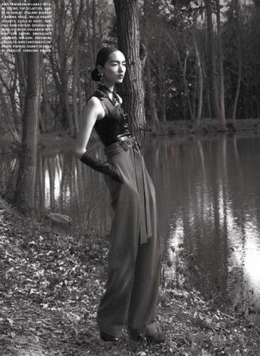 MUNICH MODELS : Fei Fei SUN for VOGUE ITALIA