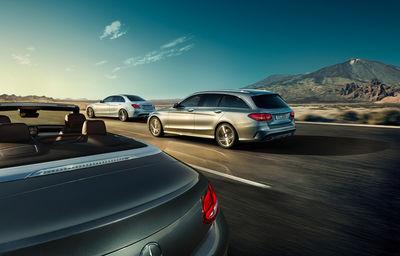 "FRITHJOF OHM & PRETZSCH / New Mercedes C-Class ""Edition C"" Campaign"