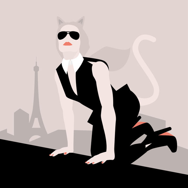 Tribute to Karl Lagerfeld / Anne-Marie Pappas