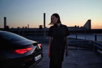 WILDFOX RUNNING: Ole Westermann for Mercedes Benz with CLA
