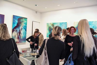 SUSANNE STEMMER : Vernissage of the exhibition Under Water
