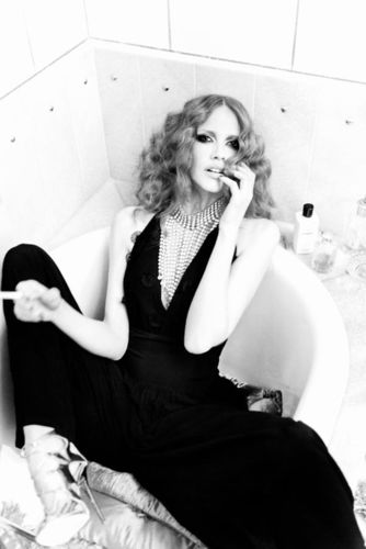 """ESTHER HAASE for VANITY FAIR ITALY """"CELEBRATE"""""""