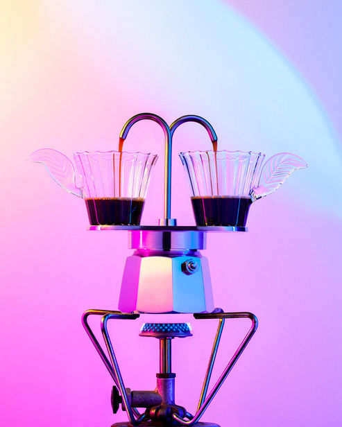 DOUBLE T PHOTOGRAPHERS: Marie-Therese Cramer - Coffee in the making