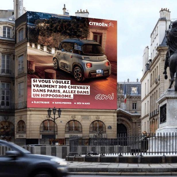 Citroën AMI Campaign by Maison Vignaux @ContiArt