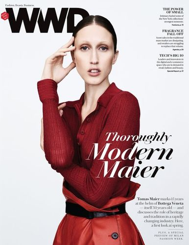 DARLING CREATIVE ZOLTAN TOMBOR for WWD MAGAZINE