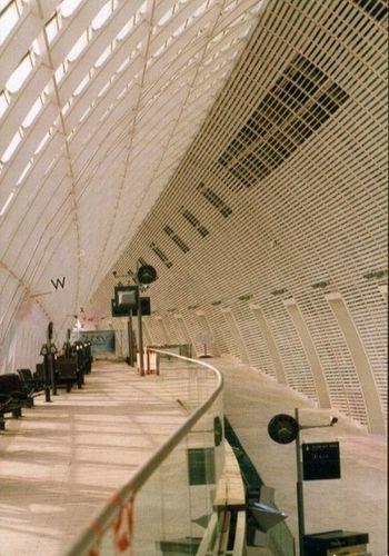 TRANSPORTATION: Avignon TGV Station, Waiting Room