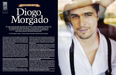 DAN CARABAS : Diogo MORGADO for GQ