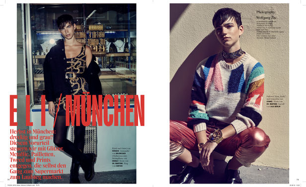 ROCKENFELLER & GöBELS: COVERSTORY FOR FACES*MAGAZINE BY WOLFGANG ZAC