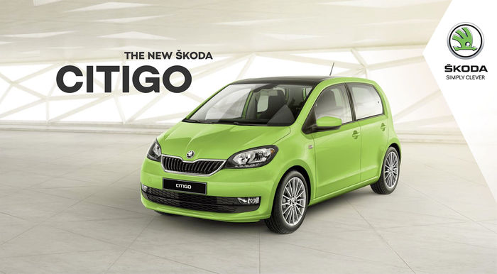 CGI backplate for Škoda Rapid new facelift campaign