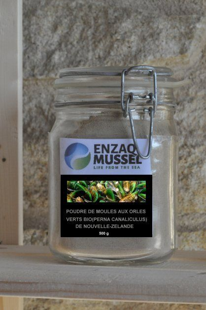 ORGANIC ENZAQ GREEN LIPPED MUSSEL POWDER EXTRACT FROM NEW ZEALAND BY SABINE FAURE
