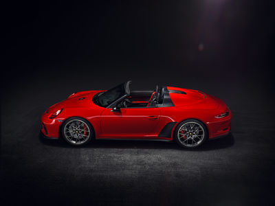 Porsche 911 Speedster Concept by Victor Jon Goico