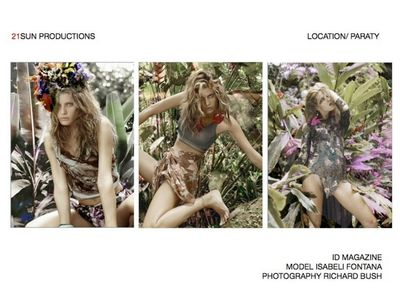 21 SUN PRODUCTIONS for ID MAGAZINE