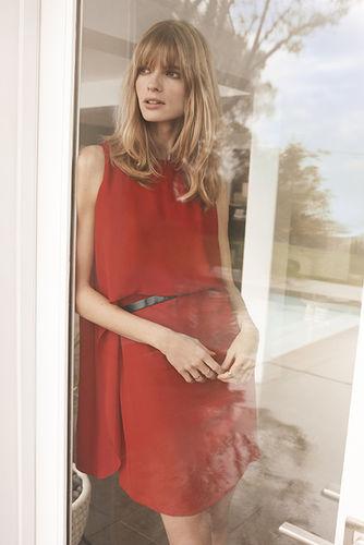 JULIA STEGNER c/o LOUISA MODELS for COMMA Summer campaign 2017