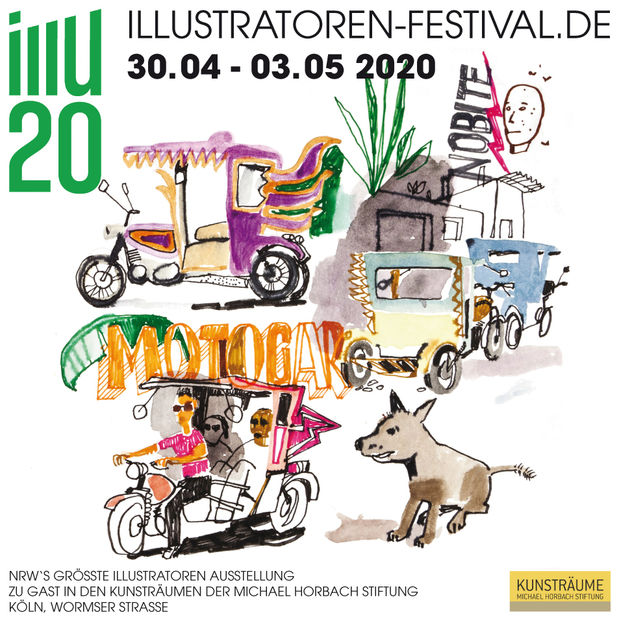 ILLU20 - Illustration Festival, Köln