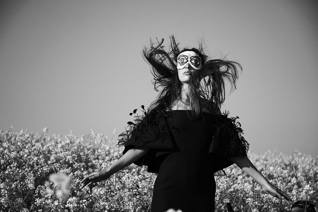 'Flower Maze' for ICON Magazine by ESTHER HAASE