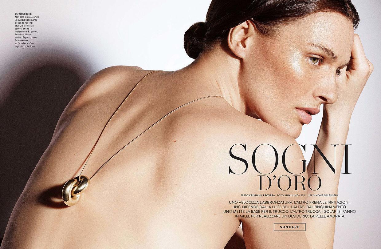 NINA KLEIN, Hair & Make Up: Caroline Torbahn for Amica by Straulino