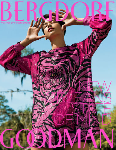 Todd Cole c/o GIANT ARTISTS traveled to New Orleans to photograph the Pre-Fall 2018 collection for Bergdorf Goodman Magazine.