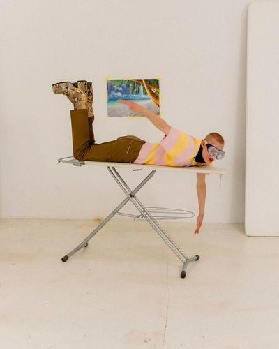 BIRGIT STÖVER ARTISTS: KAPTURING for FUCKING YOUNG! MAGAZINE