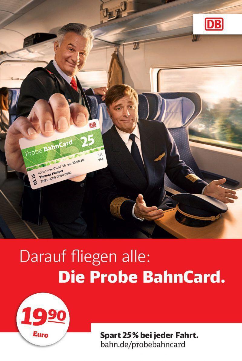 probe bahncard 25