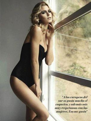 MUNICH MODELS : Lena GERCKE for GQ SPAIN