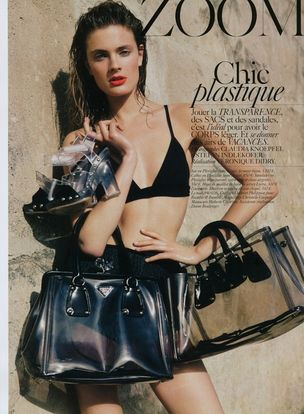 MUNICH MODELS : CONSTANCE Jablonski for VOGUE