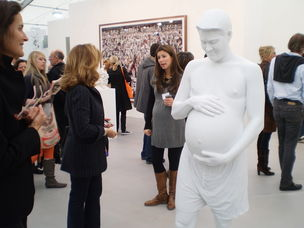 Frieze : Marc Quinn at White Cube