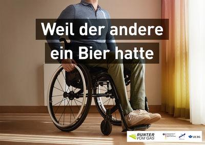 """UPFRONT PHOTO & FILM GMBH: Monika Höfler for BMVI - """"Runter vom Gas"""" Kampagne"""