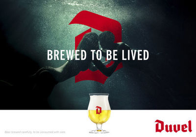 Duvel brewed to be lived