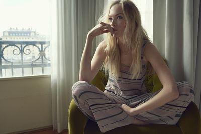 Siri Tollerød for ELLE DK shot by Anja Poulsen