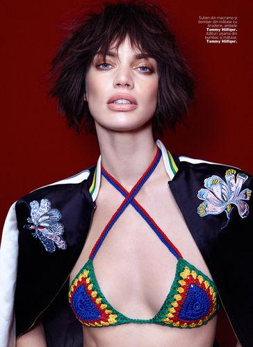LOUISA MODELS : Rianne TEN HAKEN for ELLE Romania