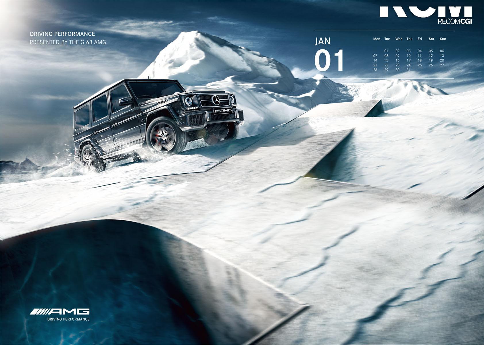 RECOM CGI : AMG-Kalender 2013