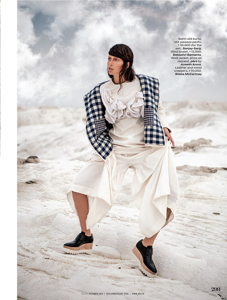 ANIMA CREATIVE : Dimitra ALTANI for ELLE India