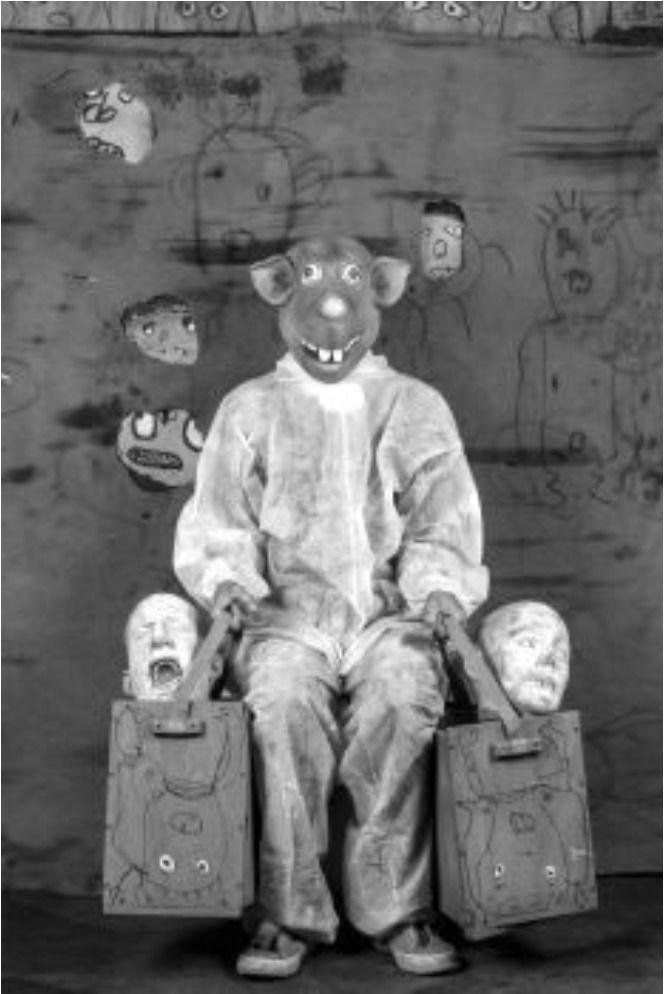 Bounty, a.d.S. Roger the Rat © Roger Ballen, Courtesy: ARTCO Gallery | EMOP 2020