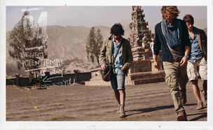NERGER M&O : Misha TAYLOR for CAMEL ACTIVE